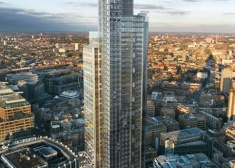 110 Heron Tower, City, EC2, London